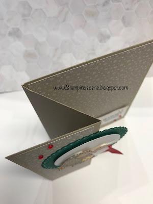 fancy fold stampin up card making stamping