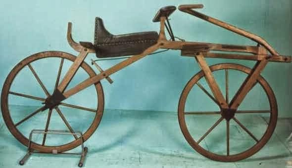 struktur sepeda pertama