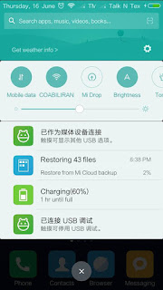 [ROM] [KOPA] MIUI 8 China Developer ROM 6.6.16 for CM Cubix Cube [6592] Screenshots
