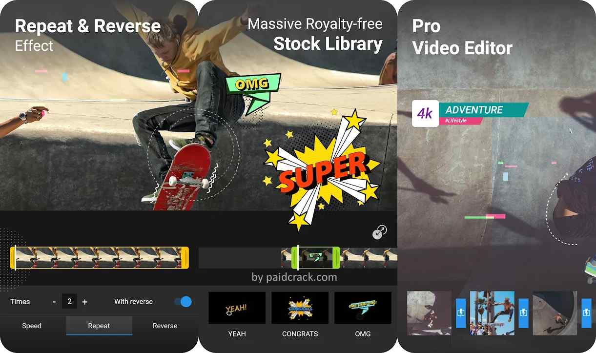 ActionDirector Without Watermark Mod Apk