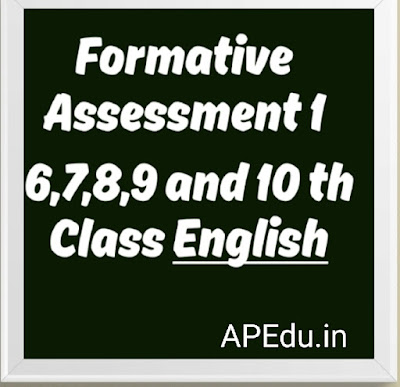 Formative Assessment-1 Modal papers
