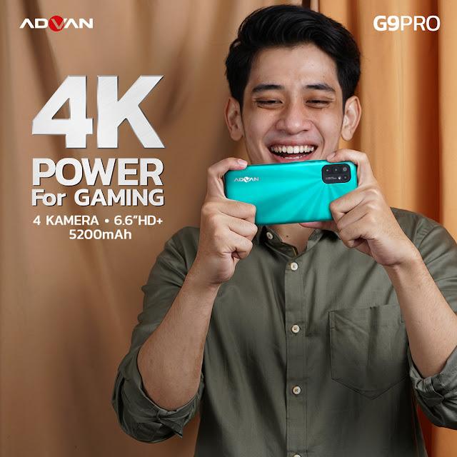 Kamera ADVAN G9 Pro