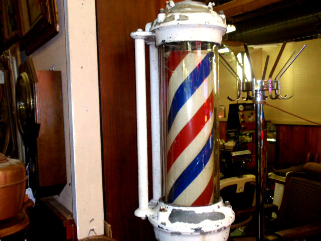 Barber Girl Photos Antique Barber Poles For Sale