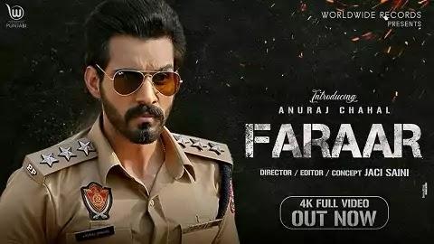 Faraar Lyrics in Punjabi Font | Anuraj Chahal