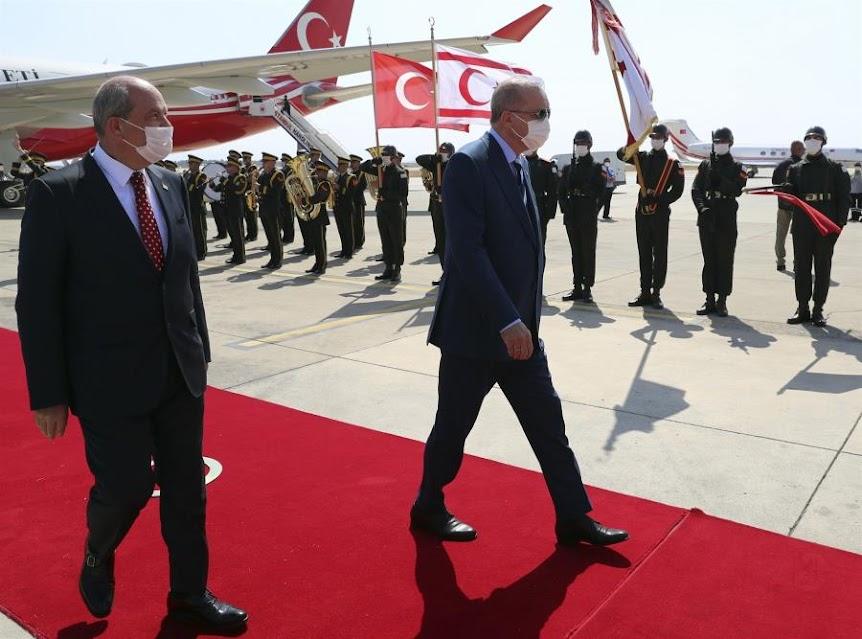 Το δόγμα της λύσης «δύο κρατών» και ο «γρίφος» του Ερντογάν στα κατεχόμενα