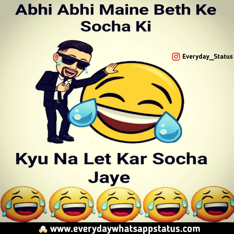 Unique 60 Funnny Quotes In Hindi Images