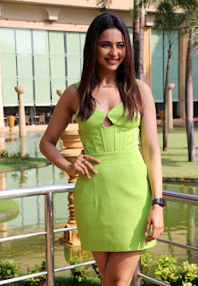 Rakul Preet Singh in barely there green Dress Spicy Pics
