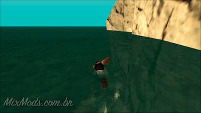 mod de água realista em hd para GTA SA