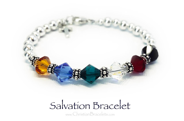 Picture of a Salvation bracelet for approval