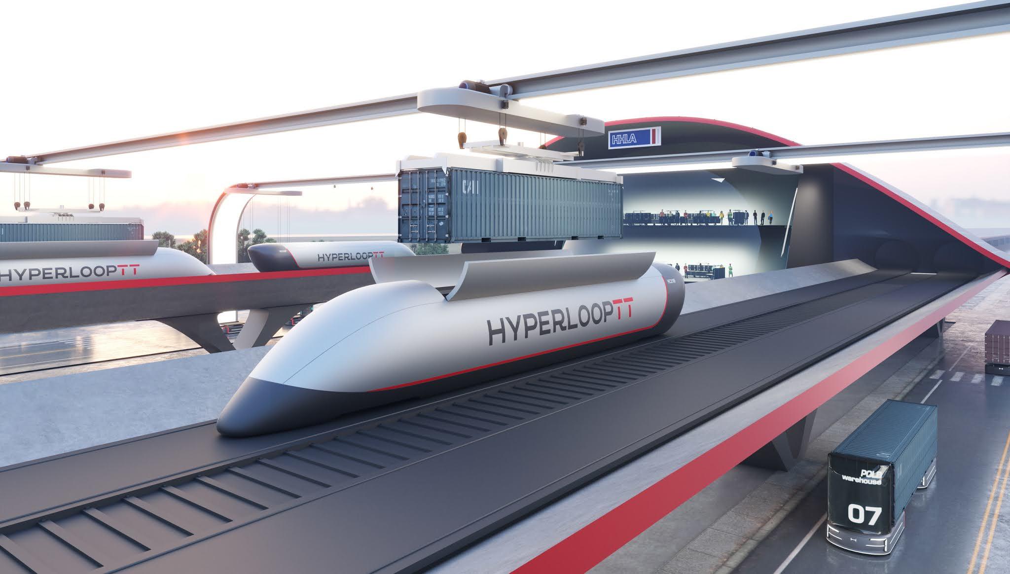 HyperloopTT and HHLA Reveal HyperPort