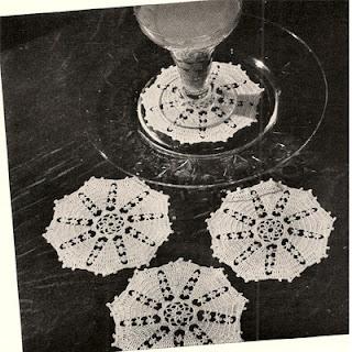 Octagon Crochet Sherbet Doily Pattern