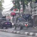 Mencekam! Rombongan Pasukan Elit TNI Datangi Markas FPI