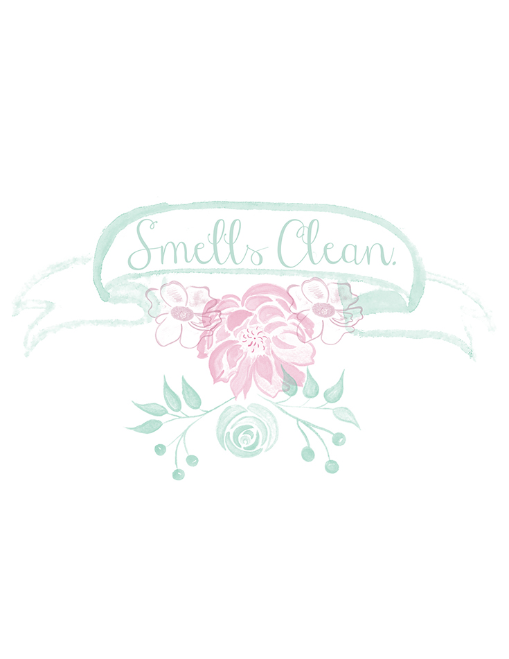 "How to ""Clean"" a Home in a Hurry: How I Make Sure My Home Looks & #SmellsClean  and  free printables!"
