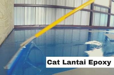 Cat Lantai Epoxy