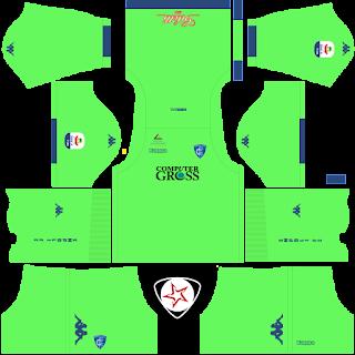 Empoli FC 2018 - 2019 GK Home Kit