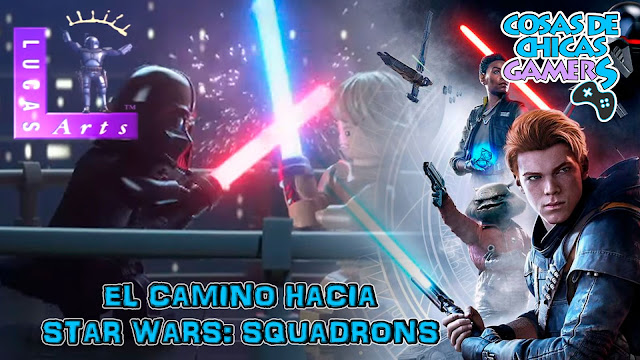 el camino hacia star wars squadrons portada