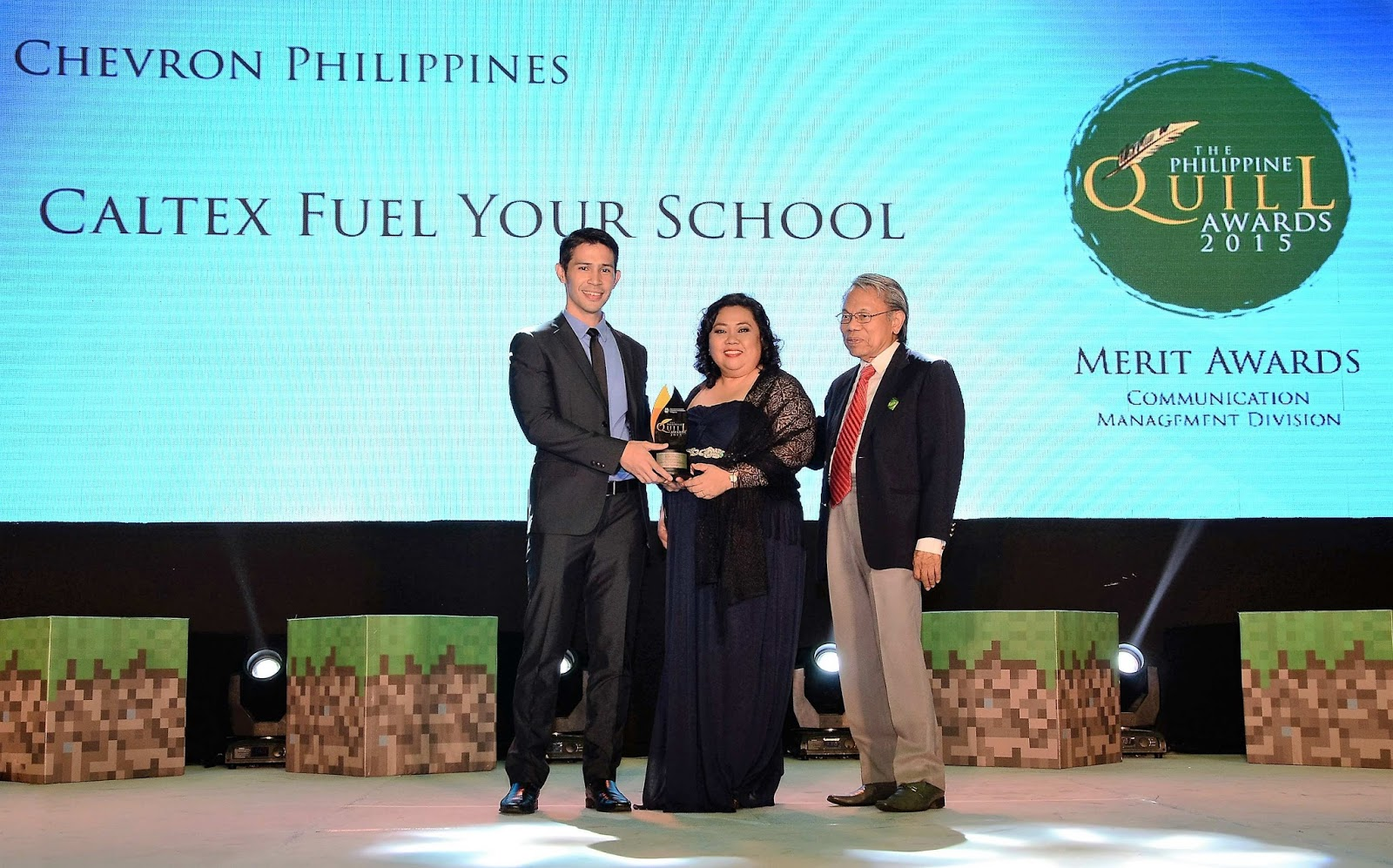 Caltex Fuel Your School bags 3rd award for the year