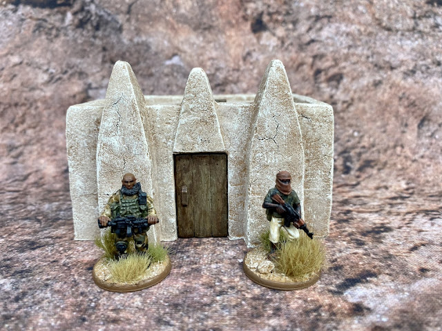 28mm Adobe Village Buildings from Fogou Models for Western Africa, Mali and the Sahel