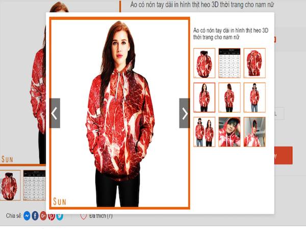 Trend đồng phục thịt heo