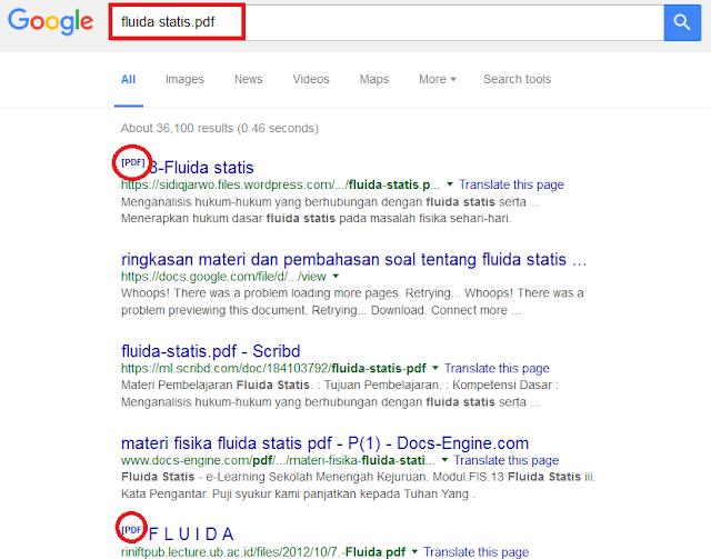 mencari file di internet