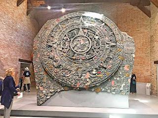 Copia sin autorización el Calendario Azteca