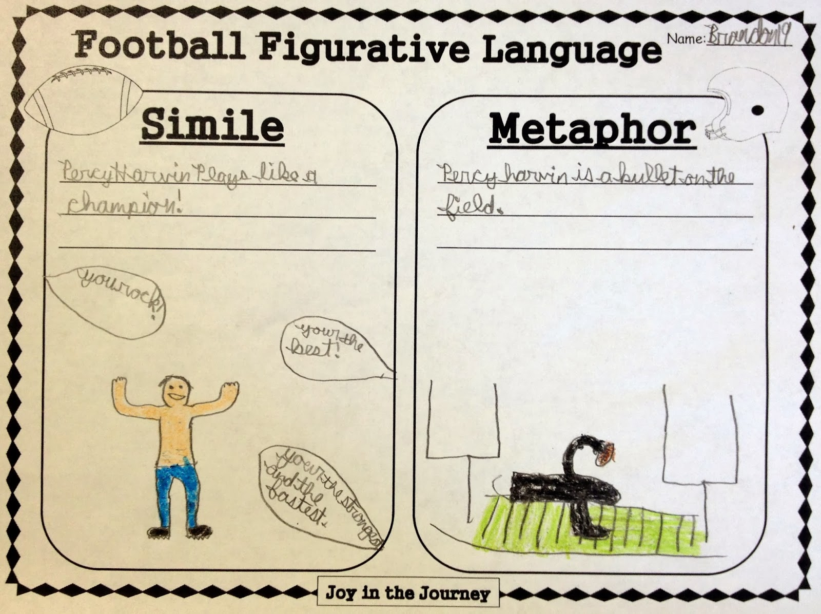 Sports Figurative Language