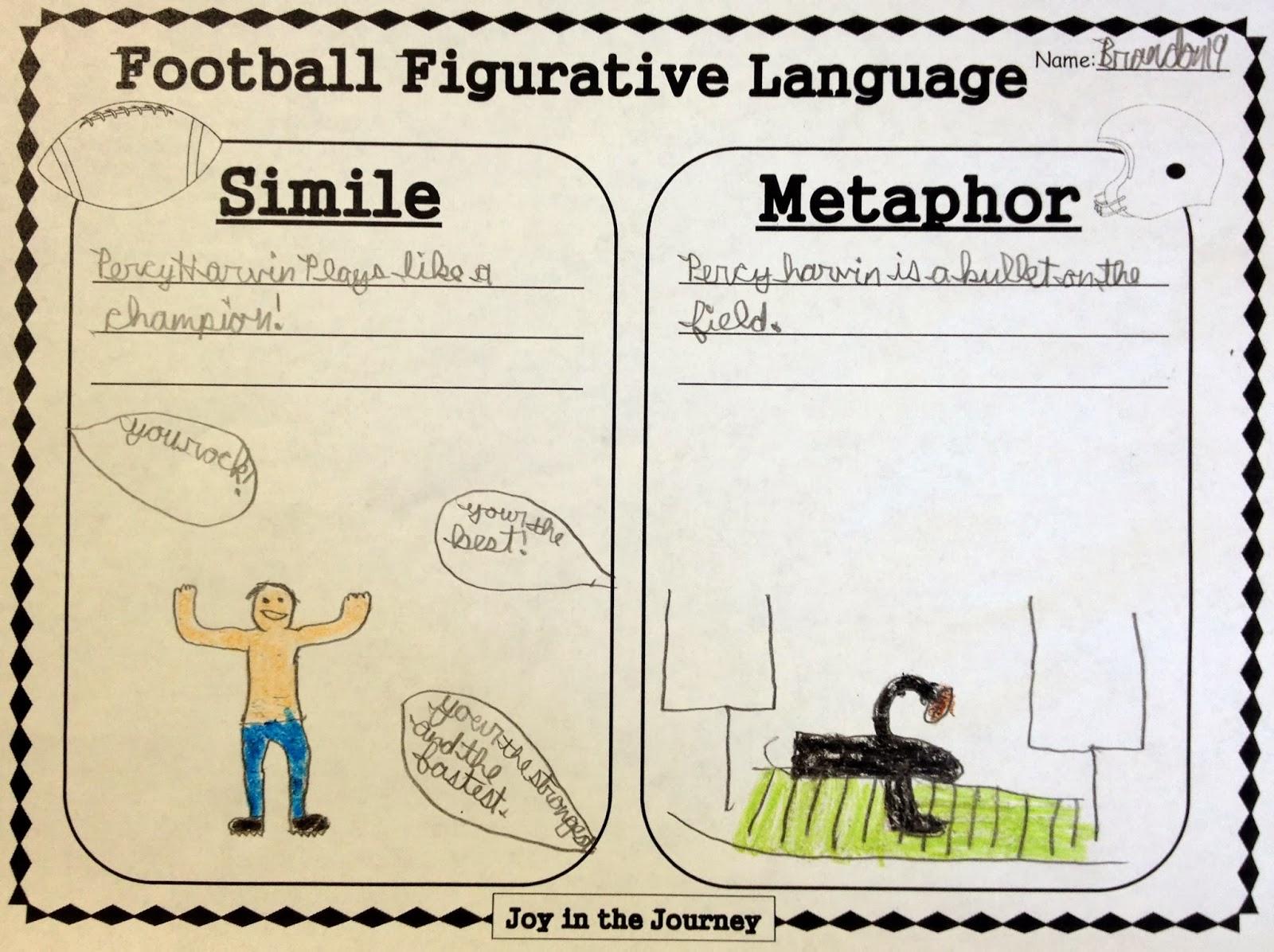 Sports Figurative Language