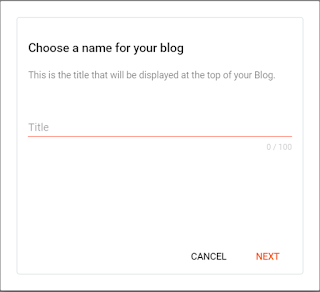 Blogger is a completely free Google service