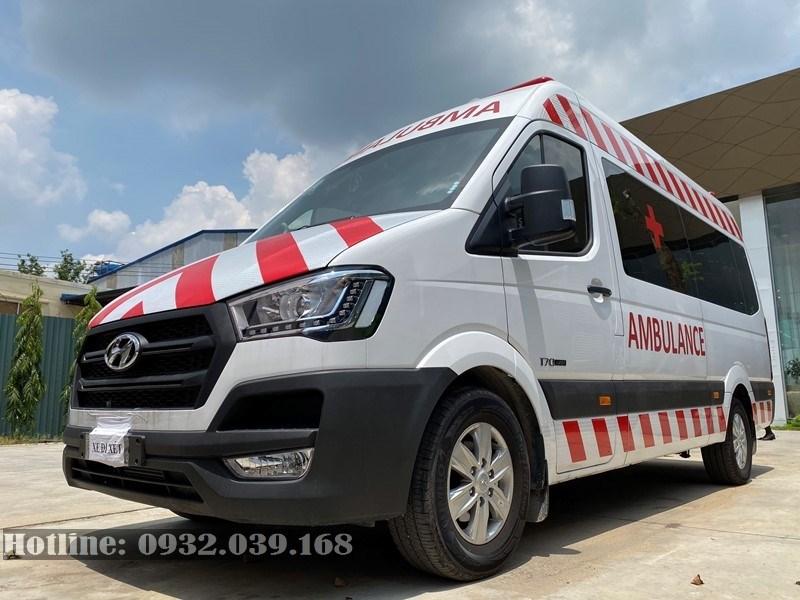 Hình ảnh thực tế xe cấp cứu Hyundai Solati 2020
