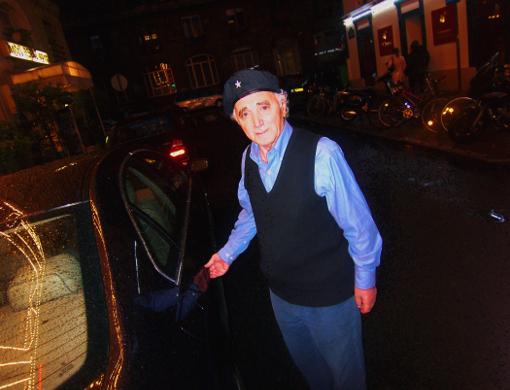 Charles Aznavour chanteur french singer armenie paris france