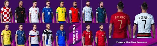 PES 2020 National Teams Kits Update 20-21 V2 AIO by AVif