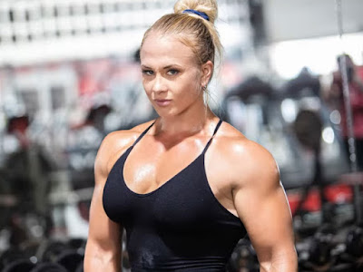 sarah backman muscle
