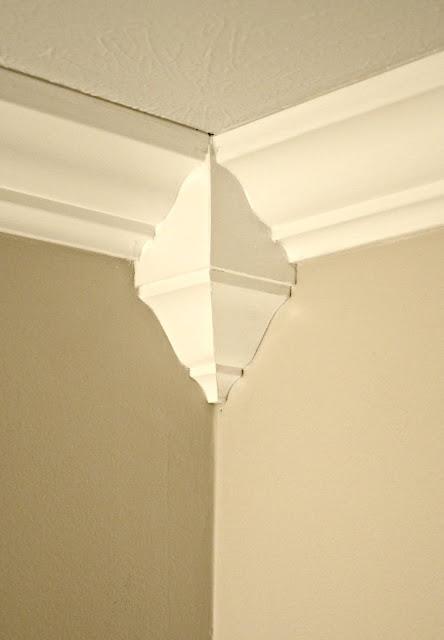 inside corner crown molding the easy way