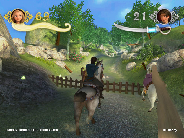 Disney Tangled Video Game
