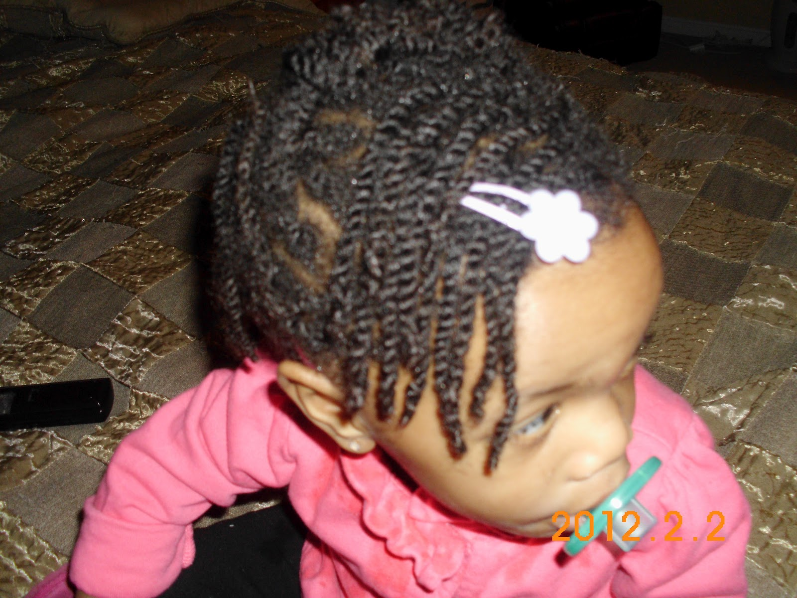 Outstanding My Baby Girls Curls Mini Twists Protective Style January Short Hairstyles For Black Women Fulllsitofus