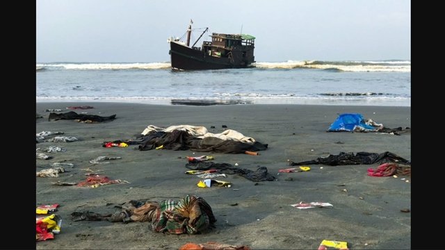 """""""Rasanya Ingin Menangis,"""" Terkatung-katung di Laut, Muslim Rohingya yang Meninggal Dibuang"""