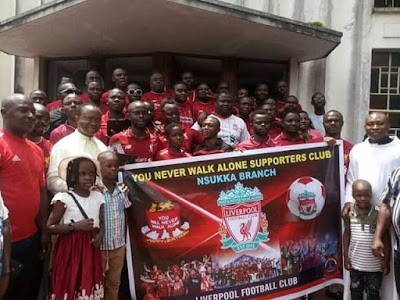 (Photos)Liverpool Fans In Nsukka Conducts Thanksgiving Service After Champions League Triumphant Win