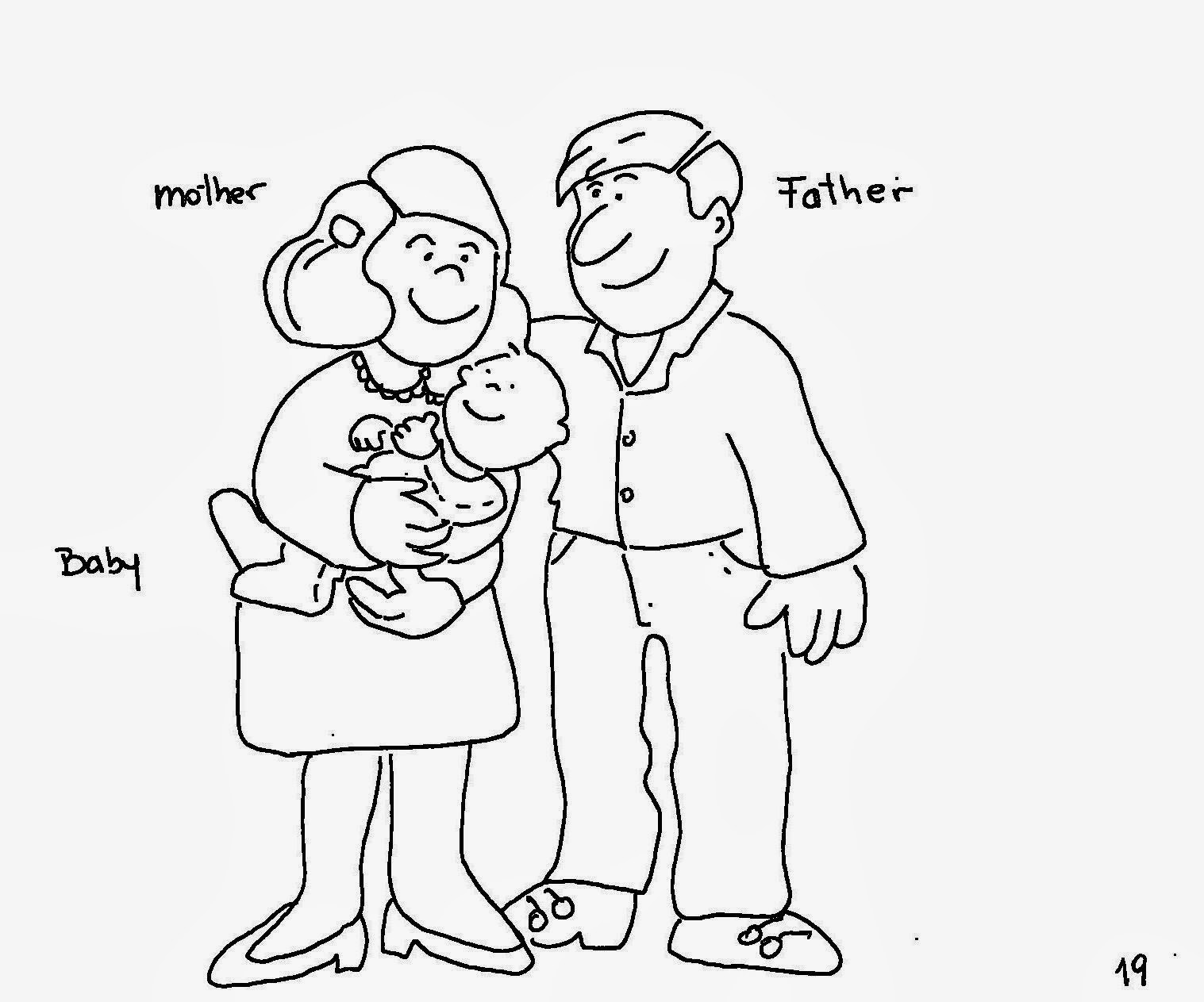 O Mundo Colorido The Family Atividades Em Ingles