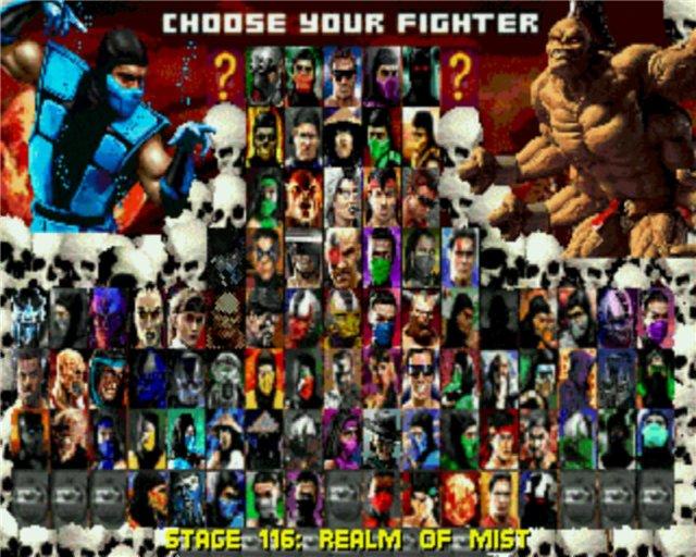 Different Version Kombat Mortal Trilogy