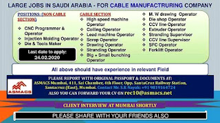 Cable Manufacturing Company in Saudi Arabia