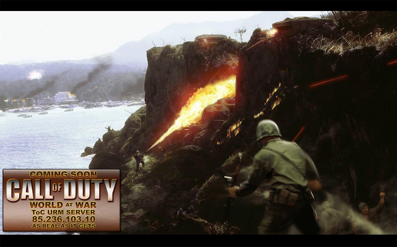 Call Of Duty World At War Wallpaper: Desiree Huffman: Call Of Duty World At War Wallpaper