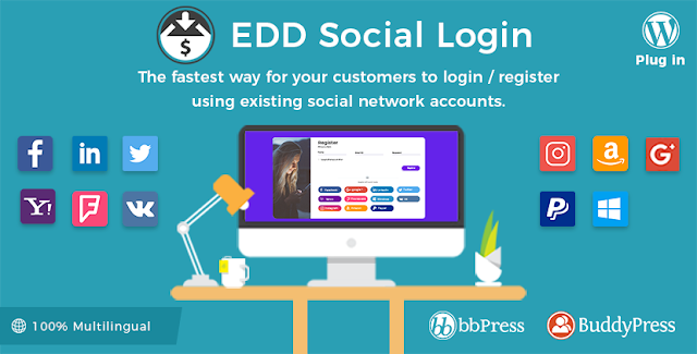 Free Easy Digital Social Login v2.1.6