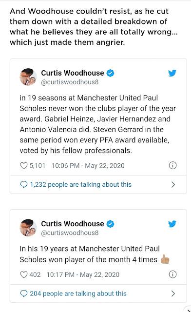 curtis woodhouse twitter scholes gerrard