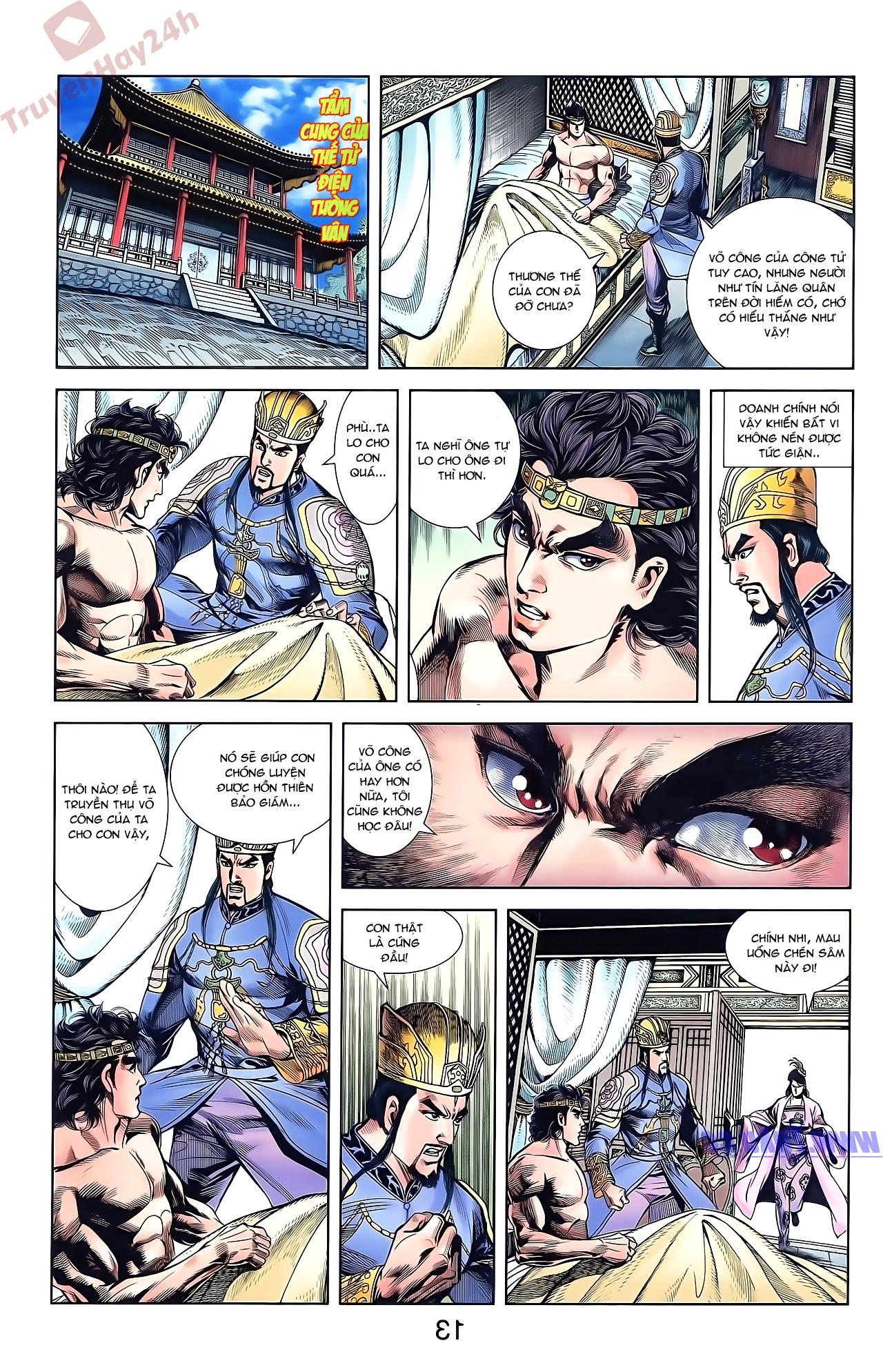 Tần Vương Doanh Chính chapter 50 trang 13