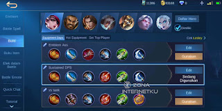 Lesley's painful build and emblem recommendation in Mobile Legends