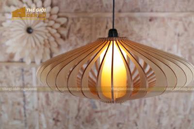 Thế Giới Đèn Gỗ - 8 mẫu đèn trang trí gỗ cho phòng ăn đẹp lung linh 2