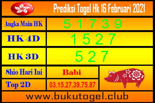 Hk Forecast 16 Februari 2021