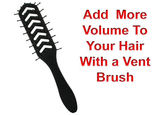 Vent Brush Adds Volume