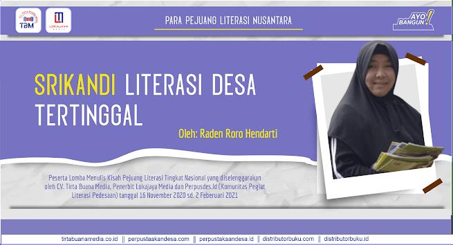 Srikandi Literasi dari Desa Tertinggal