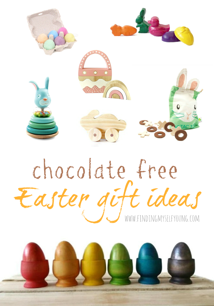 Finding myself young non chocolate easter gift ideas for toddlers the best part is unlike chocolate which is gone as soon as you eat it these gifts will all be used multiple times and be treasured for years not minutes negle Gallery